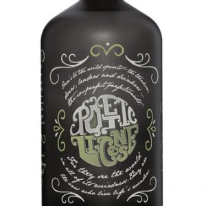 POETIC LICENSE NORTHERN DRY GIN BOTTLE
